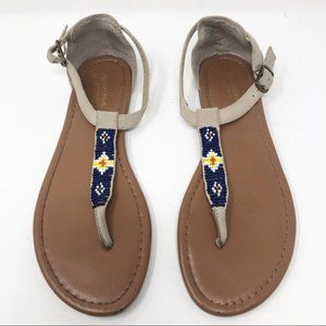 ARIZONA JEANS Beaded Sandals